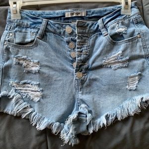High Rise Charlotte Russe Shorts